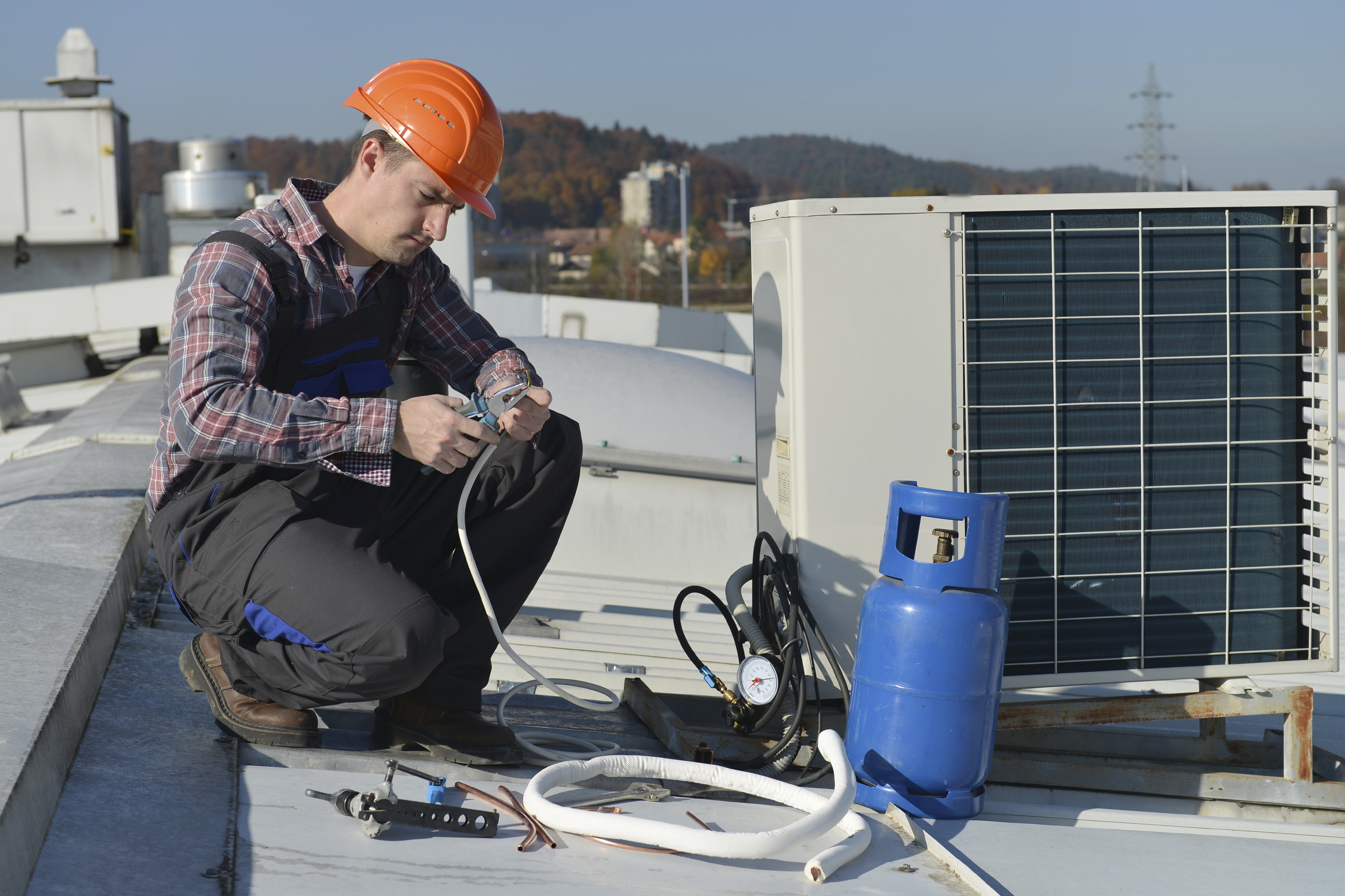 Air Conditioning System Installation